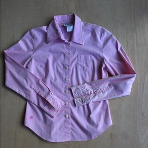 Lilly Pulitzer Light pink Buttondown top blouse